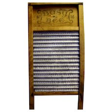 Vintage Busy Bee Washboard