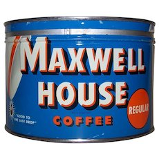 Vintage Maxwell House Coffee Tin