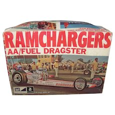 Vintage General Mills MPA Fun Group Ramcharger Fuel Dragster Model Kit