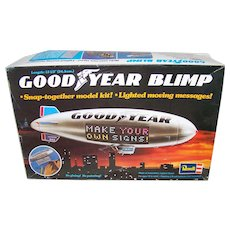 Vintage 1975 Model #99000 Revell Goodyear Blimp Motorized Model Kit