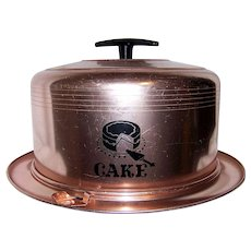 Vintage 1960's West Bend Cake Saver/Cover