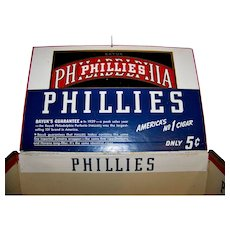 Vintage Philadelphia Phillies Perfecto Cigar Box