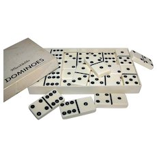 Vintage Puremco #616 Double-Six Domino Set