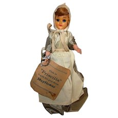 Vintage 1950's Priscilla Alden Mayflower Doll
