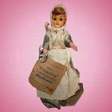 Vintage 1950's Priscilla Alden Mayflower Doll