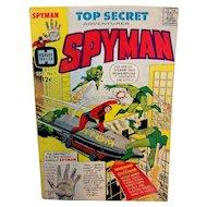 Vintage Harvey Comics Issue #1 Top Secret Adventures Spyman