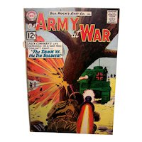 Vintage 1962 DC Comic Book Our Army At War