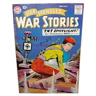 Vintage 1959 DC Comic Book Star Spangled War Stories