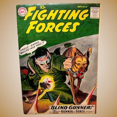 Vintage 1959 DC Comic Book Issue Of Our Fighting Forces