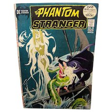 Vintage 1972 DC Phantom Stranger Comic Book