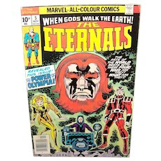 Vintage 1976 Marvel Comic Book The Eternals