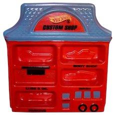 Vintage 1968 Hot Wheels Custom Shop Orange Version Display