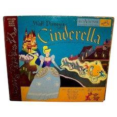 Vintage 1949 RCA Victor Cinderella Storybook Album