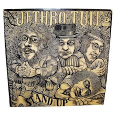 Vintage 1972 Jethro Tull Stand Up LP Album