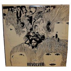 Vintage Original Beatles Revolver Vinyl LP Album