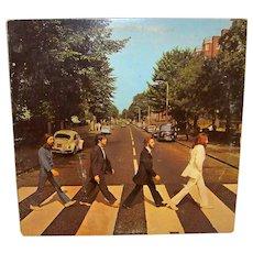 Vintage Original Beatles Abbey Road Vinyl LP Album