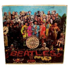 Vintage Beatles Sgt Peppers Lonely Hearts Club Band Vinyl LP Album