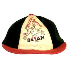 Vintage 1935 Dizzy & Daffy Dean Children's Baseball Cap
