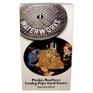 Vintage 1972 Parker Brothers Board Game Waterworks
