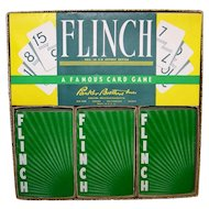Vintage 1963 Parker Brothers Card Game Flinch