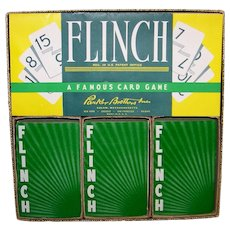 Vintage 1963 Parker Brothers Card Game Flinch
