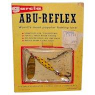 Vintage 1959 Garcia ABU-REFLEX Spinning Lure #7651