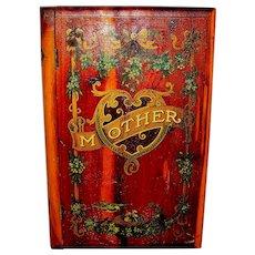 Vintage Wood Red Cedar Family Bible Or Family Keepsake Box