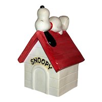 Vintage Ceramic Snoopy Bank