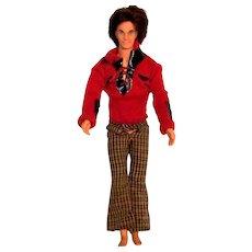 Vintage 1973-75 Mattel Mod Hair Ken Doll