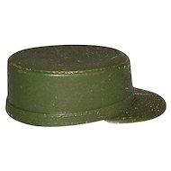 Vintage Hasbro 1964 Original G.I. Joe Action Soldier Green Army Fatigue Hat