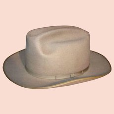 Vintage 1950's Stetson Hat By Peters Brothers Inc. Fort Worth, Texas