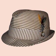 Vintage 1950's Bee Fedora Hat