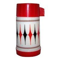 Vintage 1970's Aladdin Vanguard #3C Half Pint Vacuum Thermos