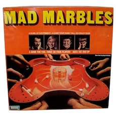 Vintage 1970 Lakeside Mad Marbles Boxed Table Game