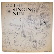 Vintage Singing Nun Story Book Record Album And Art Folio