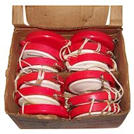 Vintage 1960's Box Of New Old Stock Fish-O-Matic Reels