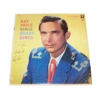 Vintage 1957 Autographed Ray Price Record Album