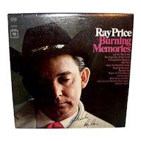 Vintage 1965 Autographed Ray Price Record Album