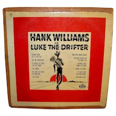 Vintage 1955 Hank Williams Sr. MGM Record Album