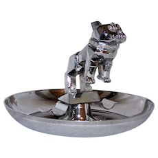 Vintage Mack Truck Polished Chrome Cigar Ashtray