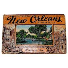 Vintage 1938-39 Curt Otto Teich Linen Miniature Postcards