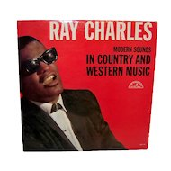 Vintage 1962 Ray Charles Modern Sounds In Country & Western Music Album