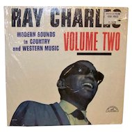 Vintage 1962 Ray Charles Volume II Album