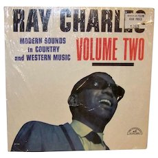 Vintage 1962 Ray Charles Volume II Album