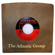 Vintage Abba Vinyl 45 RPM Record By Atlantic Records