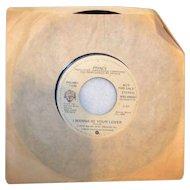 Vintage Prince Vinyl 45 RPM Record By Warner/Reprise Records