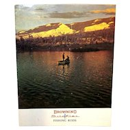 Vintage 1966 Browning Silaflex Fishing Rods Catalogue