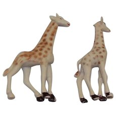 Vintage Pre-Owned Corgi Major Toys Chipperfields Giraffe Set