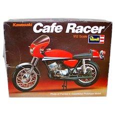Vintage 1975 Revell H1510 Kawasaki Cafe Racer