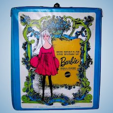 Vintage 1968 World Of Barbie Doll Case